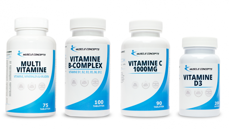Vitamine supplementen voor sporters