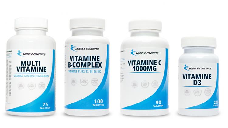 Vitamine supplementen voor sporters