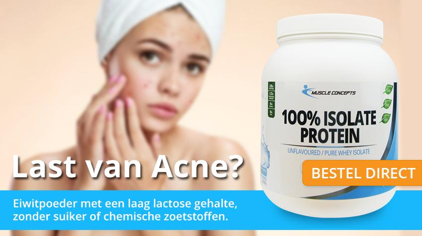 acne van eiwitten